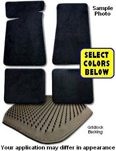 1950 FORD PICKUP CARPET FLOOR MATS 2 PIECE SET FM317F