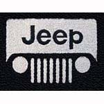 Word 'Jeep' can be custom color - rest is silver (4-1/4
